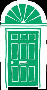 Blessington Street front door
