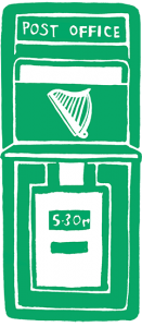 Irish postbox