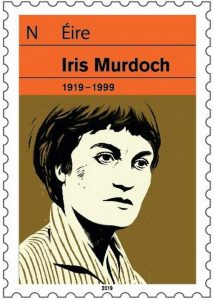 Commemorative stamp for the Centenary of the birth of Iris Murdoch